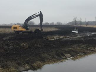 11.14.17 Excavation of stormwater wetland